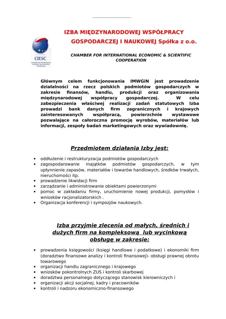 info. o Izbie na str. inter.-1